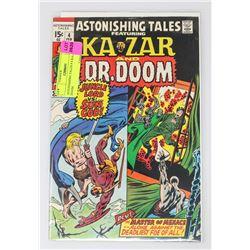ASTONISHING TALES # 4 KA-ZAR DR. DOOM