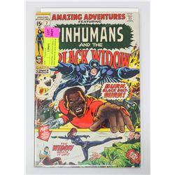 AMAZING ADVENTURES # 7 INHUMANS BLACK WIDOW