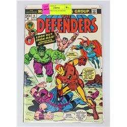 DEFENDERS # 9 VS AVENGERS