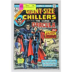 GIANT SIZE # CHILLERS DRACULA 1ST LILITH