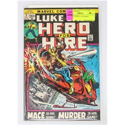 HERO FOR HIRE # 3 1ST MACE