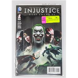 INJUSTICE # 1 DEATH OF LOIS LANE 1ST PRINTING