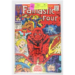 FANTASTIC FOUR # 77 SAME DATE RELEASE AS S.S. # 1