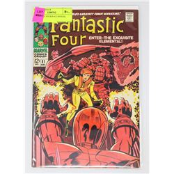 FANTASTIC FOUR # 81 CRYSTAL JOINS
