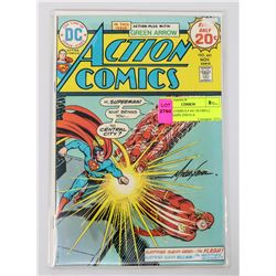 ACTION COMICS # 441 M.GRELL AUTOGRAPH 2ND G.A