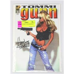 TOMMY GUNN # 3 AUTOGRAPHED