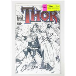 THOR # 1 VARIANT AUTOGRAPHED