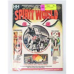 SPIRIT WORLD # 1 JACK KIRBY EARLY ART