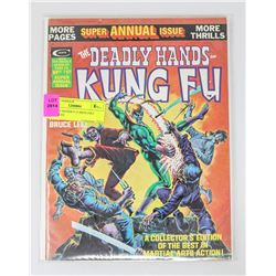 DEADLY HANDS # 15 IRON FIST BRUCE LEE