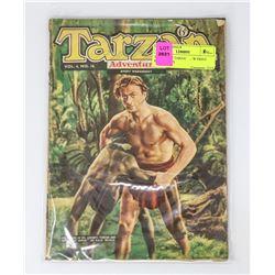 3 X BRITISH TARZAN LOW PRINT RUN COMICS