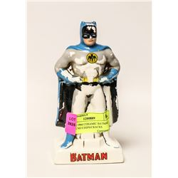 SCARCE 1966 CERAMIC BATMAN PIGGY BANK, NO CHIPS