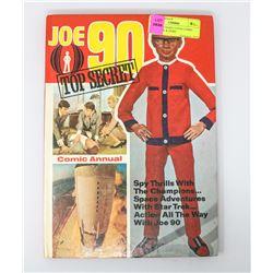 1969 JOE 90 HARD COVER COMIC STAR TREK & MORE