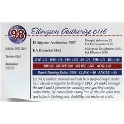 ELLINGSON AUTHORIZE 0116