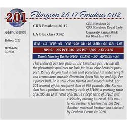 ELLINGSON 26 17 EMULOUS 0112