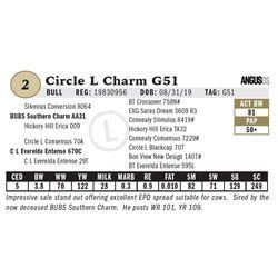 Circle L Charm G51