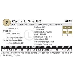 Circle L Gus G2
