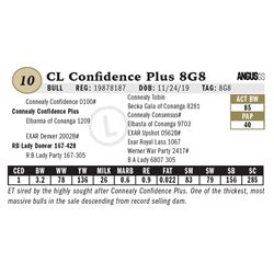 CL Confidence Plus 8G8