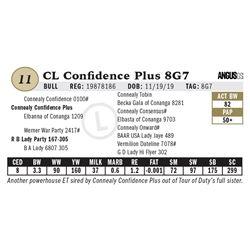 CL Confidence Plus 8G7