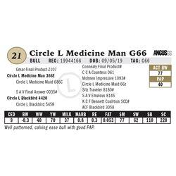 Circle L Medicine Man G66