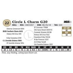 Circle L Charm G20