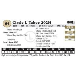 Circle L Tahoe 202H
