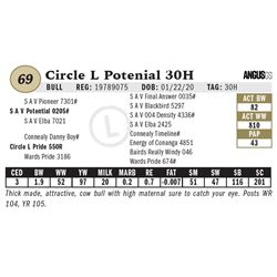 Circle L Potenial 30H