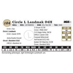 Circle L Landmak 04H