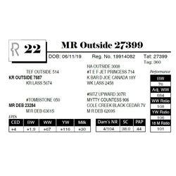 MR Outside 27399