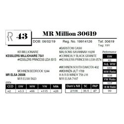 MR Million 30619
