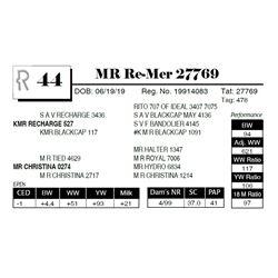 MR Re-Mer 27769