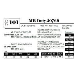 MR Duty 30769