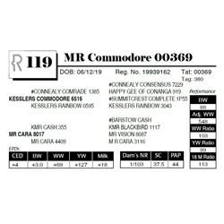 MR Commodore 00369