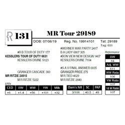 MR Tour 29189