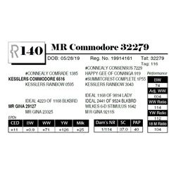 MR Commodore 32279