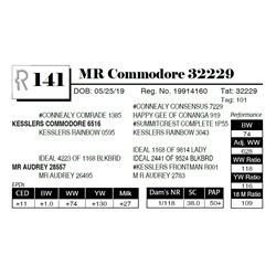 MR Commodore 32229