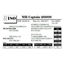 MR Captain 26609