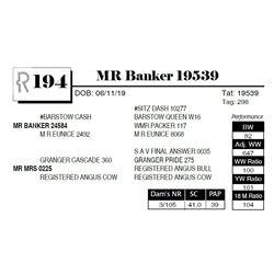MR Banker 19539