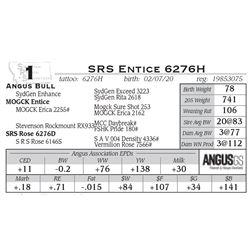 SRS Entice 6276H