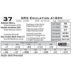 SRS Emulation 4183H