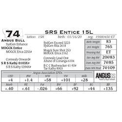 SRS Entice 15L