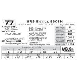 SRS Entice 8301H
