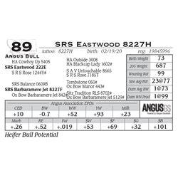 SRS Eastwood 8227H
