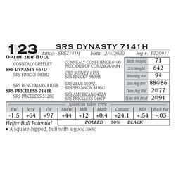 SRS DYNASTY 7141H