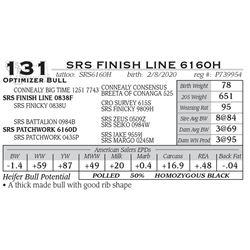 SRS FINISH LINE 6160H