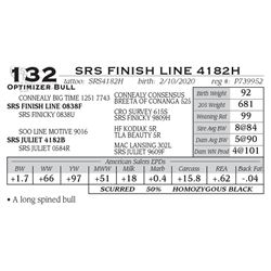SRS FINISH LINE 4182H