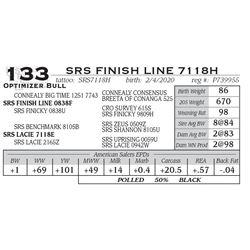 SRS FINISH LINE 7118H