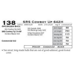 SRS Cowboy Up 642H