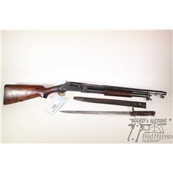 "Non-Restricted shotgun Winchester model 97 "" Trench Gun"", 12GA  2 3/4"" pump action, w/ bbl length 20"