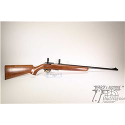 "Non-Restricted rifle Browning model T-Bolt, 22LR five shot bolt action, w/ bbl length 22"" [Blued bar"
