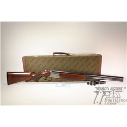 "Non-Restricted shotgun Winchester model Custom Ducks Unlimited Li, 12GA 2 3/4"" & 3"" two shot hinge b"